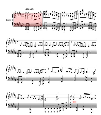 Diese Sonne (?) - (Musik, Noten, Klavier)