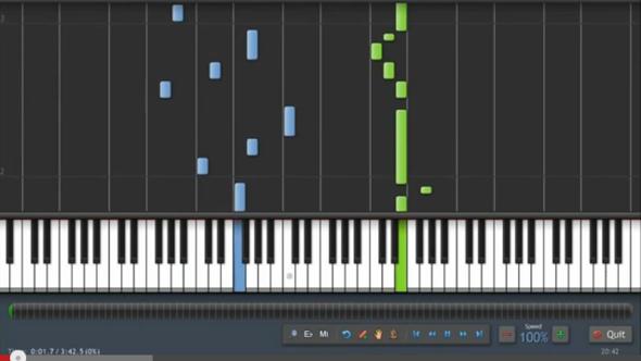 Dieses Programm suche ich  - (Youtube, Programm, Klavier)