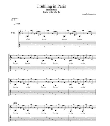Hier die Noten - (Noten, Klavier, HÄH)
