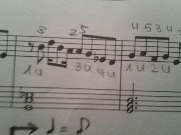 Rhythmus?! - (Klavier, rhythmus)