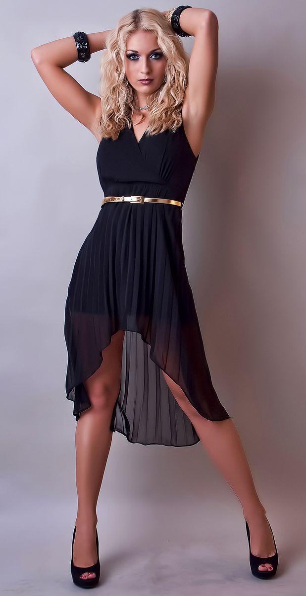 Kleid hochzeit gast schwarz