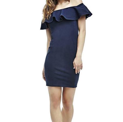 Blaues Kleid  - (Mode, Kleid)