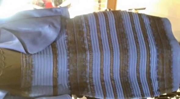 Kleid Gold/Weiß oder Schwarz/Blau? (Mode, Kleidung, Umfrage)
