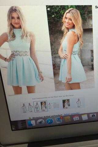 hier das Kleid  - (Kleid)