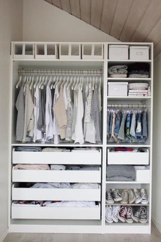 Ikea pax schrank ohne türen  Kleiderschrank kaufen. :-) (Schlafzimmer, Schrank)