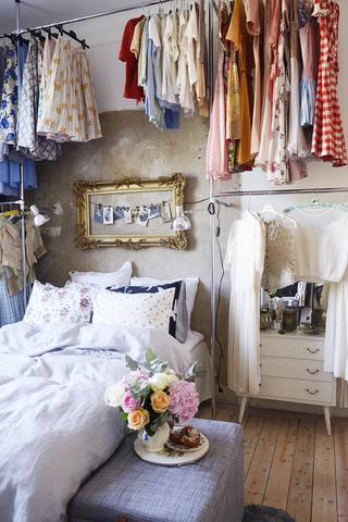 Kleiderstangen zwischen Boden und Decke - (selber machen, Wand, Boden)
