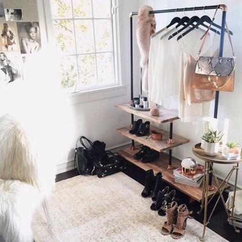 Kleiderstange Holz kleiderstange schwarz holz