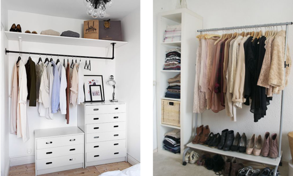 Kleiderstange schrank ohne bohren u wohn design