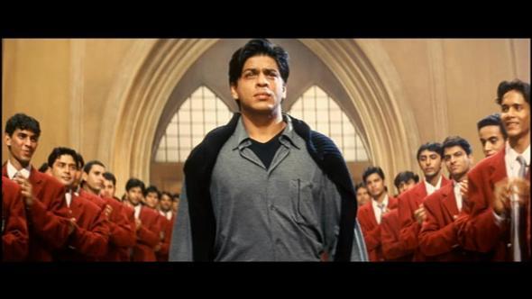 kleidung von shahrukh khan im film denn meine liebe ist unsterblich bollywood. Black Bedroom Furniture Sets. Home Design Ideas