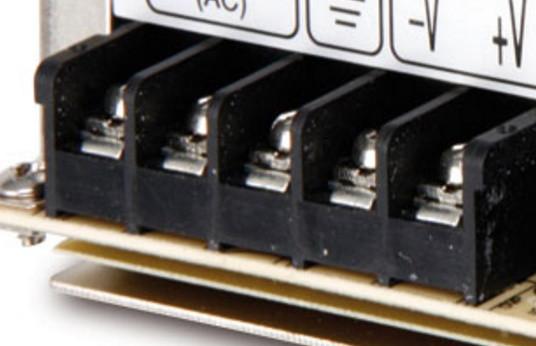 Anschlussleiste von Netzteil - (Elektronik, Elektrotechnik)