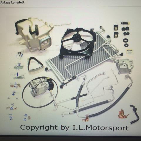hier mal ein Bild zum Set der Klimaanlage   - (Auto, Mechaniker, Klimaanlage)