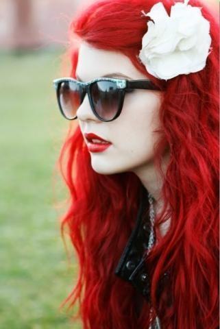 wenn möglich so ein rot wie auf dem bild *-* die sind einfach unbeschreiblich*-* - (Beauty, Haarfarbe, Rote Haare)