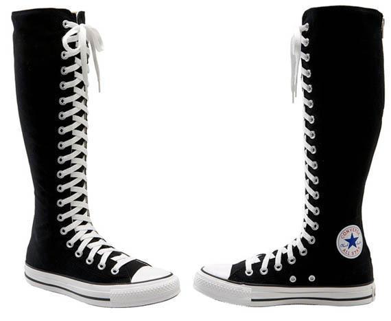Kneehigh Converse - (online, Schuhe, Tipps)