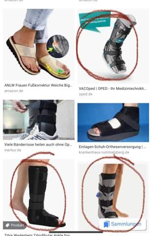 Schuh ohne krücken vacoped Vacoped