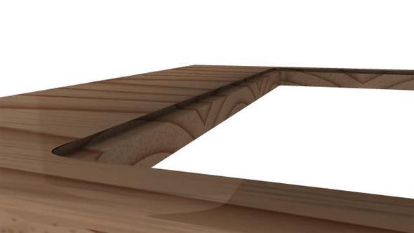 Kochfeld In Arbeitsplatte Versenken Einlassen Kuche Holz Herd