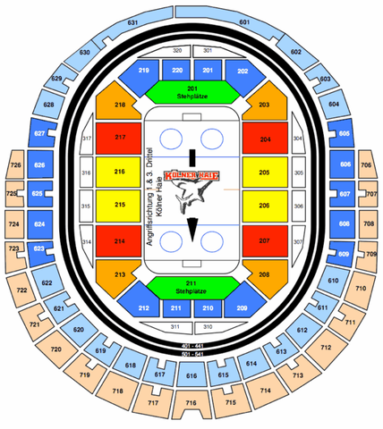 Sitzplan - (Sport, Ticket, Köln)