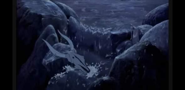 König der Löwen (94) Ende Flussszene, eure Interpretation? (Wo simba den felsen besteigt)?