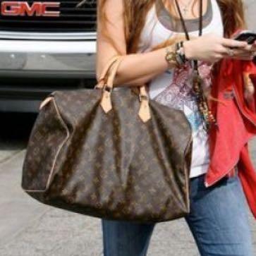 Hier seht ihr die Tasche - (Männer, Louis Vuitton, Speedy 40)