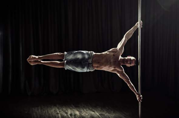 Can you the human flag?