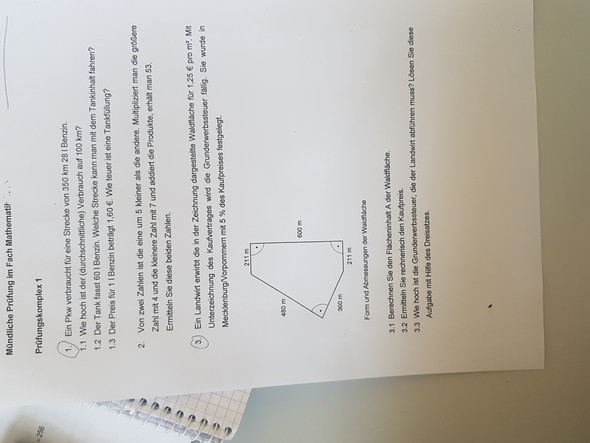 Mathe Prüfung