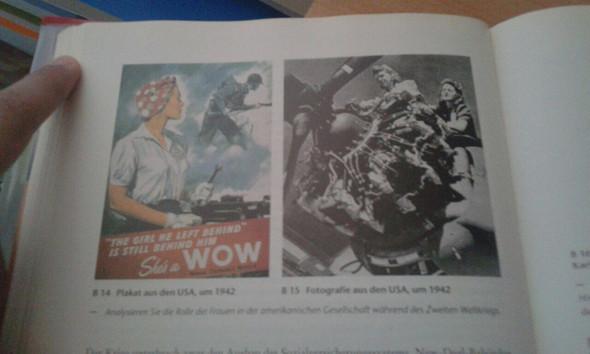 Bild mit Aufgabe - (Frauen, Geschichte, USA)