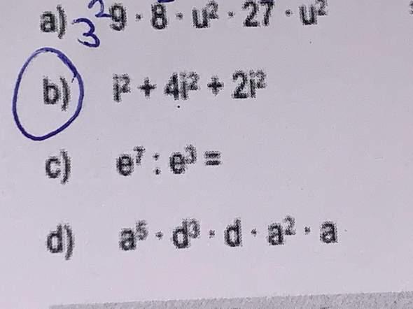 Könnt ihr mir diese Mathe Aufgabe erklären bitte? Aufgabe B?