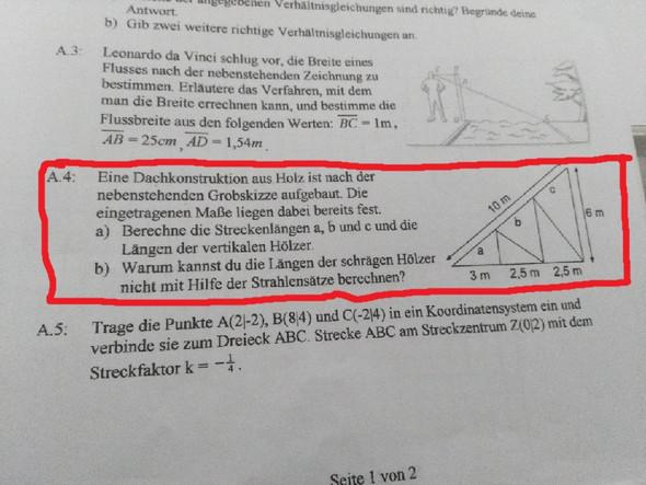 (rot eingekastet) - (Schule, Mathematik, Hausaufgaben)