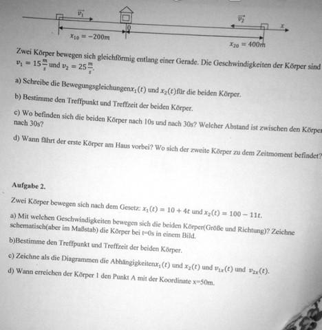 Das ist das Arbeitsblatt - (Mathe, Physik)