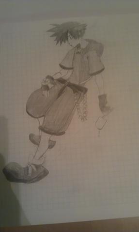 Sora <3 von Kingdom Hearts - (Manga, zeichnen)
