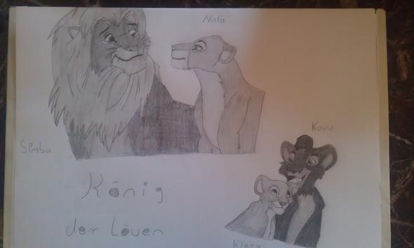 König der Löwen - (Manga, zeichnen)