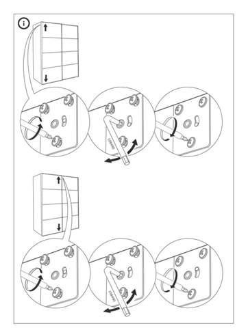 Hat jemand eine Idee wo das Proplem bei meinen Ikea Schiebentüren (FÄRVIK) liegt?
