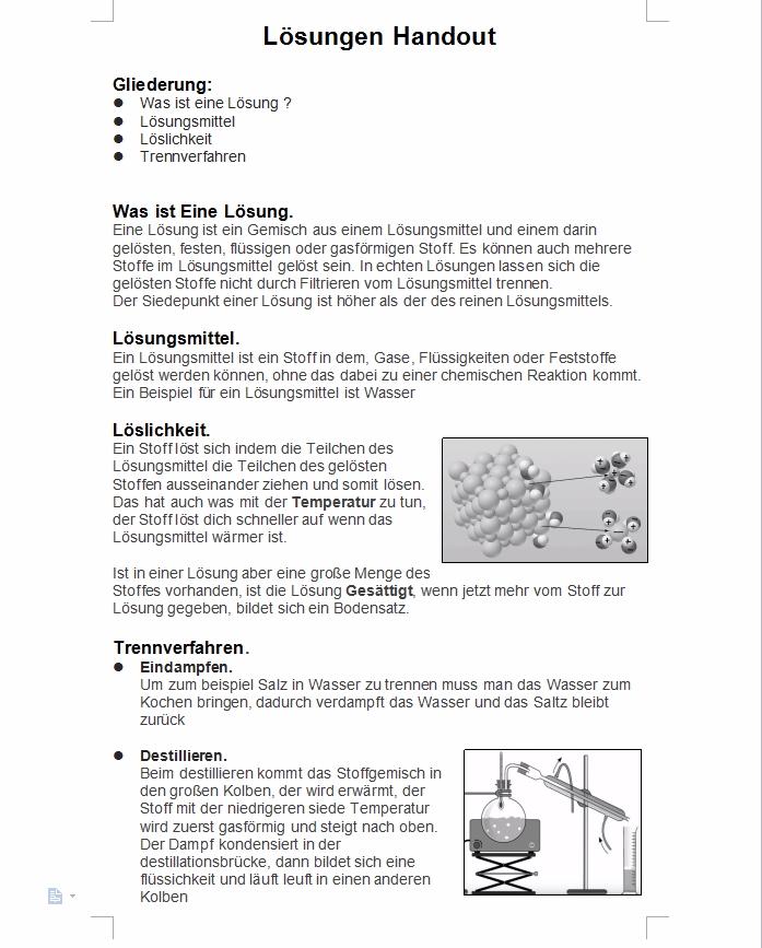 Charmant Löslichkeit Arbeitsblatt Antwortschlüssel Fotos - Super ...