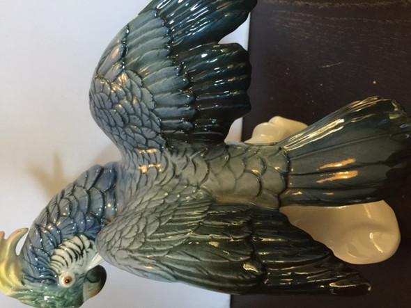 Meissen Porzellanfigur Papagei Höhe 23 cm - (Preis, Figur, Porzellan)