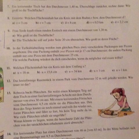 Aufgabe 9,10&13 - (Mathe)