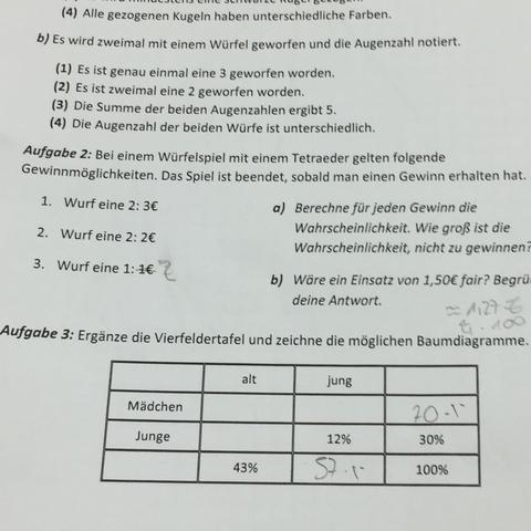Erfreut Wahrscheinlichkeit Arbeitsblatt Ks3 Mit Antworten Galerie ...