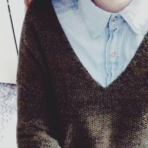 Pulli und Hemd. - (Mode, Kleidung, Klamotten)