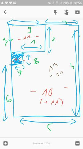 Bild - (Raum, Ausrechnen, Quadratmeter)