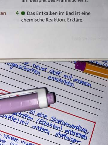 Könnte mir jemand die Frage in Chemie beantworten?
