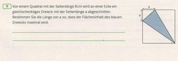 Könnte mir vielleicht jemand bei dieser Aufgabe helfen, ich hab leider absolut keine Ahnung, wie ich diese Aufgabe lösen könnte?