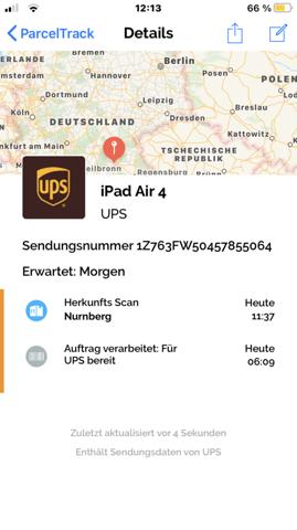 - (Paket, Versand, UPS)