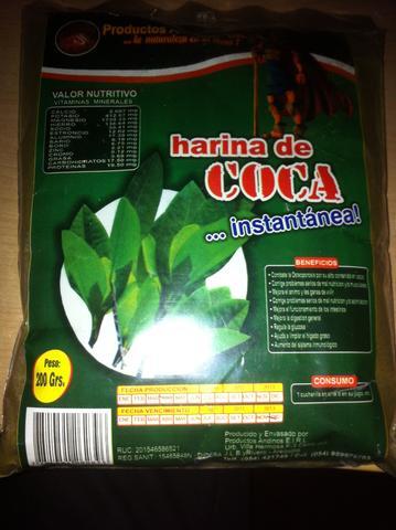 das Koka-Mehl - (legal, spanisch, Gewürze)