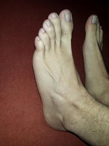 Zehen Seitenansicht - (Gesundheit, Aussehen, Füße)