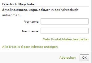 Friedrich Mayrhofer - (Internet, Geld, E-Mail)
