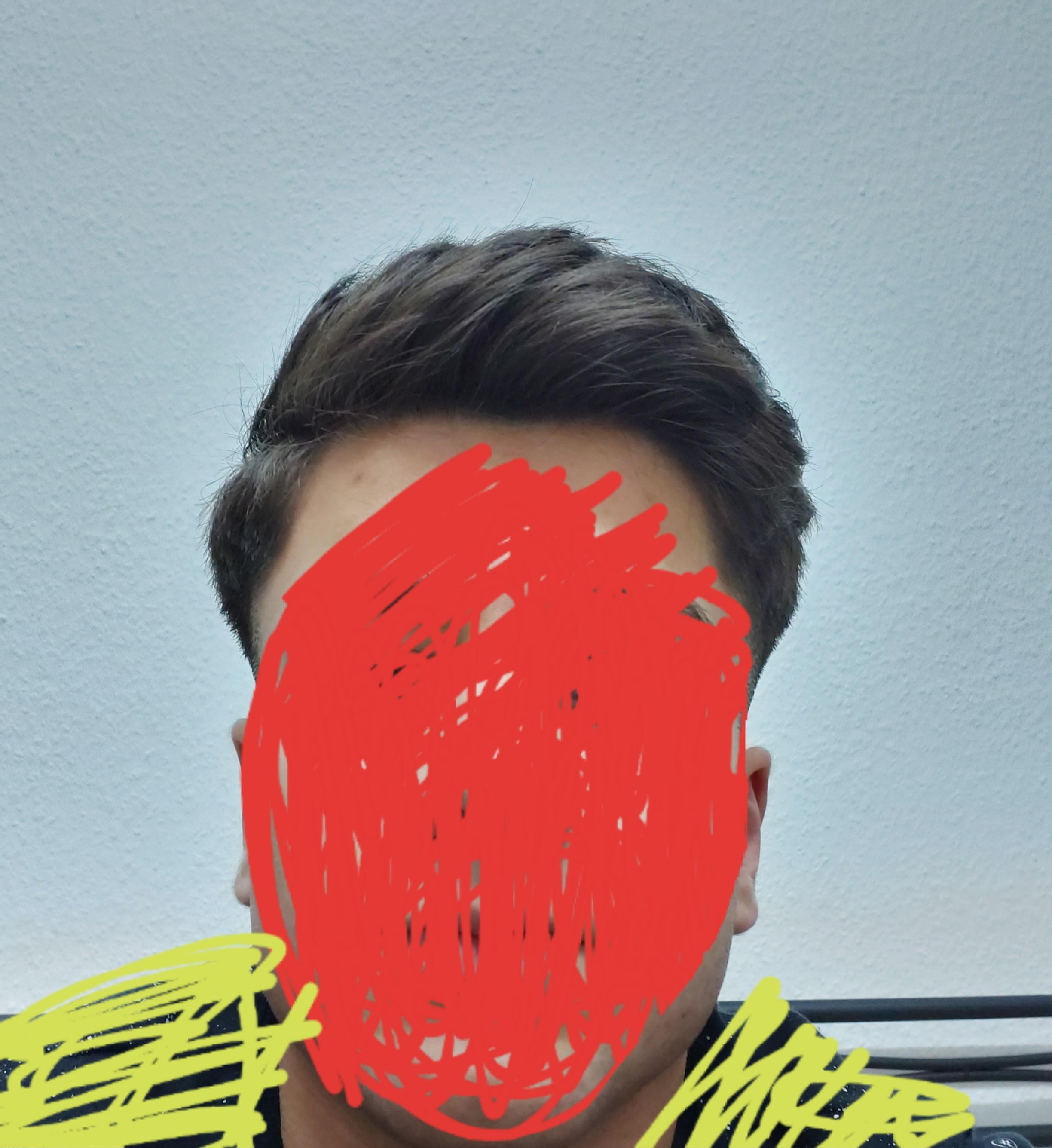 Komische Kopfform