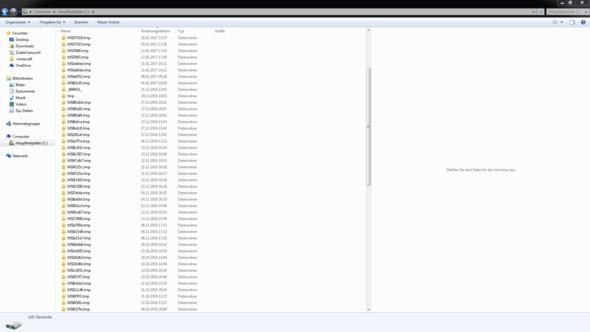 Bild 1 - (Windows, Microsoft, Ordner)