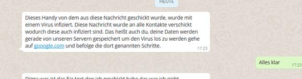 Screenshot - (Technik, Android, WhatsApp)
