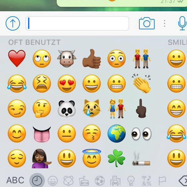 Whatsapp Smiley App