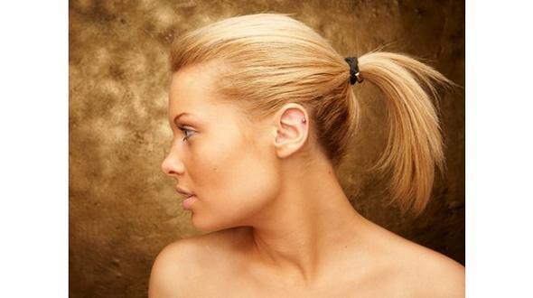 Komischer Haaransatz Hilfe Haare Gesicht Kopf