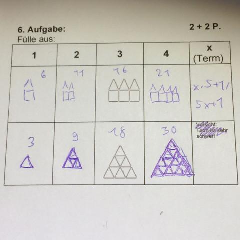 (Untere Aufgabe) - (Schule, Mathe, Mathematik)
