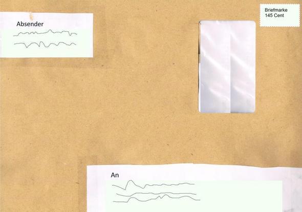 Kommt Der Brief An Oder Nicht Post Versand Briefmarken